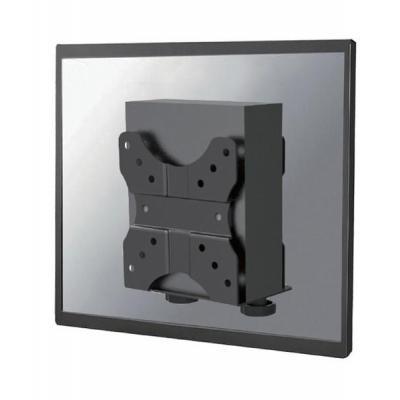 Newstar cpu steun: Thin Client Holder (attach between monitor and mount) - Black - Zwart