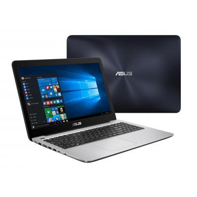 Asus laptop: VivoBook X556UA-DM981T - Navy, Zilver
