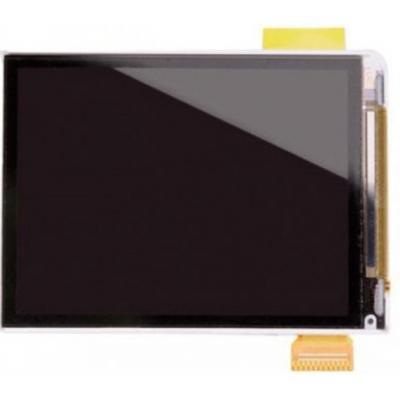 Microspareparts mobile MP3: LCD Screen for iPod Nano 3 - Zwart