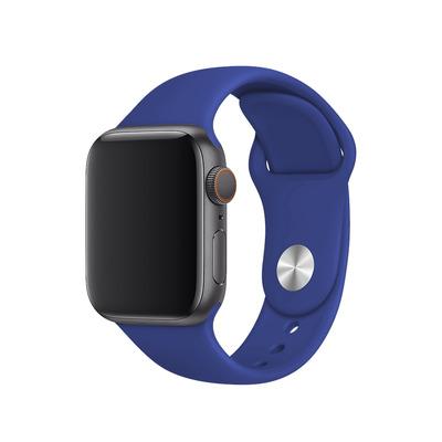 BeHello Siliconen Band 42/44mm voor Apple Watch Blau - Blauw