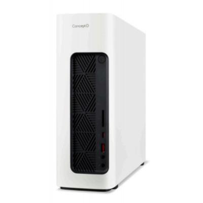 Acer ConceptD M100-51A i7 P1000 16GB RAM 1TB SSD Pc - Zwart, Wit