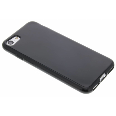 CP-CASES Softcase Backcover iPhone SE (2020) / 8 / 7 - Zwart / Black Mobile phone case