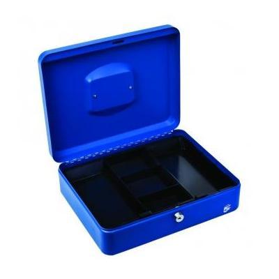 5star geldkist: Geldkoffer ft 30 x 9 x 24 cm, blauw