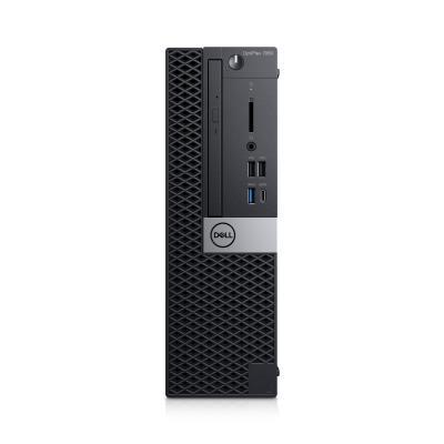 Dell pc: OptiPlex 7060 - Zwart