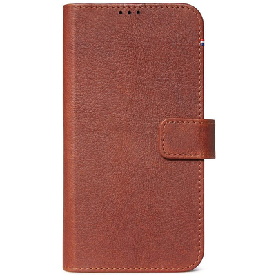 Decoded 2 in 1 Leather Booktype iPhone 11 - Bruin - Bruin / Brown Mobile phone case