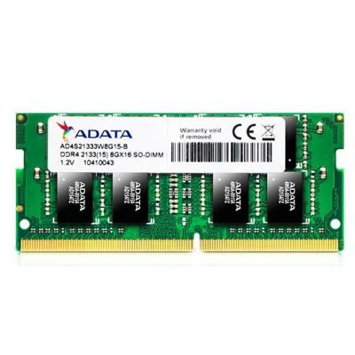 Adata RAM-geheugen: 8GB DDR4 SO-DIMM 2133MHZ 204 pin