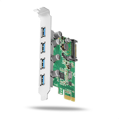 Axagon PCEU-430V PCIe controller 4x USB3.0 Interfaceadapter