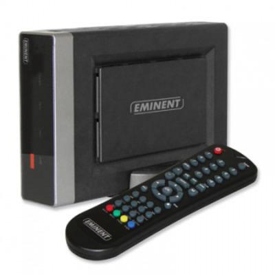 Eminent Portable SATA Media Player Mediaspeler - Zwart