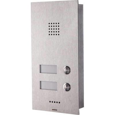 Wantec deurintercom installatie: Monolith C GSM - Roestvrijstaal