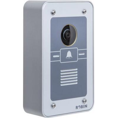 Robin deurintercom installatie: 5 MP IP, 640 x 480, SIP, SD kaart, Aluminium