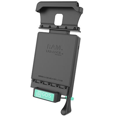 RAM Mounts RAM-GDS-DOCKL-V2-SAM29CU Mobile device dock station - Zwart, Groen