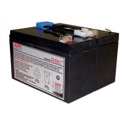 Apc UPS batterij: APCRBC142 - Zwart