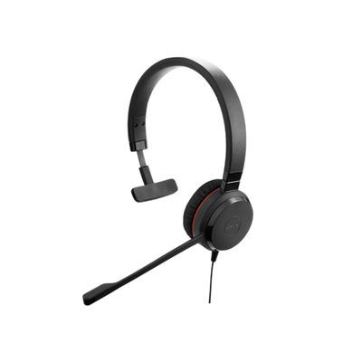 Jabra Evolve 30 II MS Mono headset - Zwart
