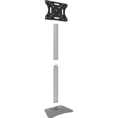 SmartMetals Deelbaar statief (Light Serie) incl. bracket max. VESA 600x400 TV standaard - Grijs