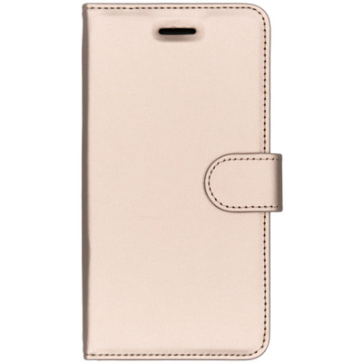 Wallet Softcase Booktype Nokia 6 - Goud / Gold Mobile phone case