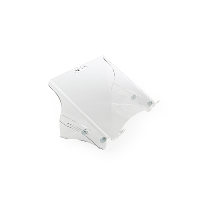 BakkerElkhuizen Q-note 350 Notebooksteun - Transparant