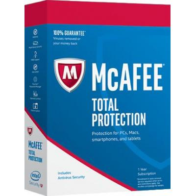 Mcafee software: Total Protection 2017