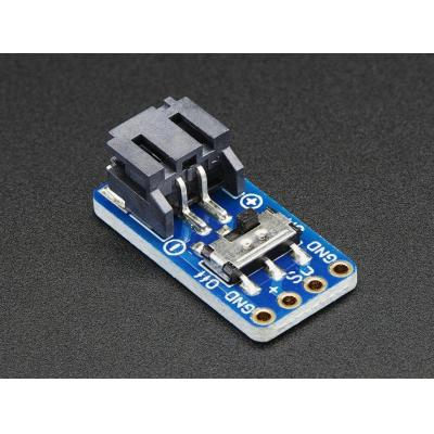 Adafruit : Switched JST-PH 2-Pin SMT Right Angle Breakout Board