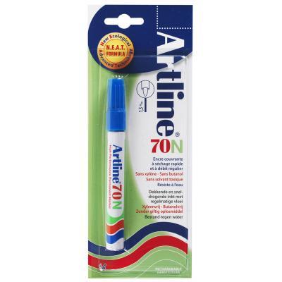 Artline 70 Blue 12 pieces Marker - Blauw, Wit