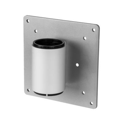 R-go tools muur & plafond bevestigings accessoire: Thin Client Holder Zepher, silver - Zilver