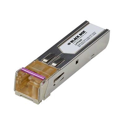Black Box 1550-nm TX, 1310-nm RX, Single-Mode, LC, 10 km Netwerk tranceiver module - Metallic