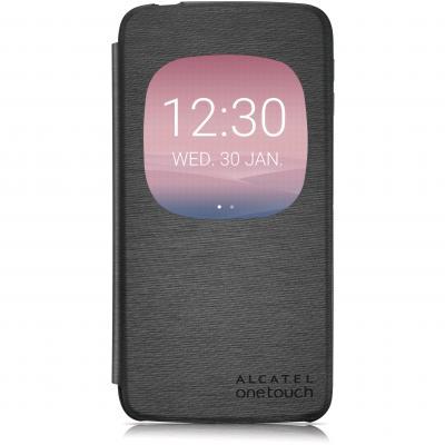 "Alcatel mobile phone case: Flip case for IDOL 3, 13.97 cm (5.5 "") , Grey - Grijs"