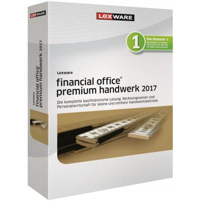 Lexware financiele analyse-software: Financial Office Premium Handwerk 2017
