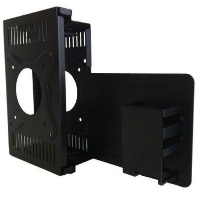 Dell montagekit: T class dual VESA mounting bracket kit, Black - Zwart