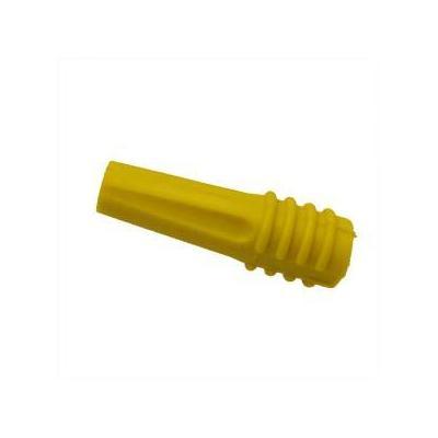 Intronics kabelbeschermer: RG-59 - RG-62 Tules Rubber - Geel