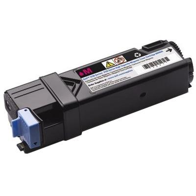 DELL Magentacartridge met hoge capaciteit, voor de Kleur Laser Printer 2150cn/cdn/2155cn/cdn Toner