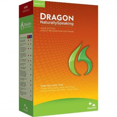 Nuance stemherkenningssofware: Dragon NaturallySpeaking 12.0 Home