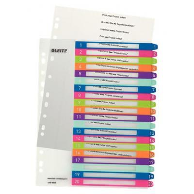 Esselte 1245-00-00 Indextab - Multi kleuren