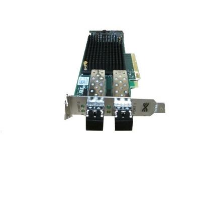 DELL Emulex LPe31002-M6-D Dual Port 16Gb Fibre Channel HBA, Low Profile Interfaceadapter - Groen