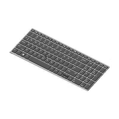HP Keyboard with a backlight for EliteBook 850 G5 notebook reserve-onderdeel - Zwart