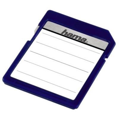 "Hama etiket: ""SD/MMC"" Memory Card Labels - Wit"