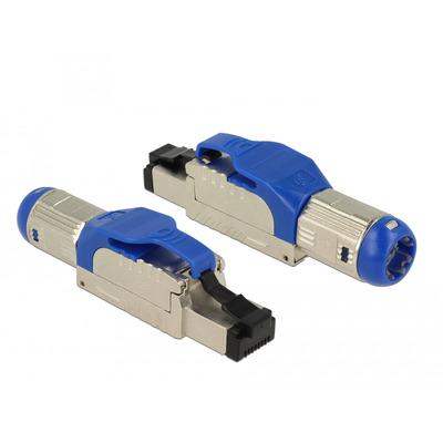 DeLOCK 86487 Kabel connector - Blauw, Zilver