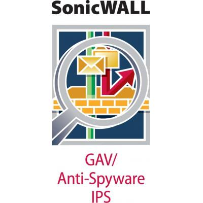 Dell software licentie: SonicWALL SonicWALL Gateway Anti-Malware, Intrusion Prevention and Application Control for NSA .....