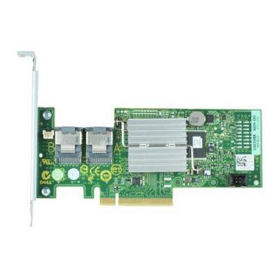 Dell raid controller: PERC H200 RAID-adapter - gegevenskabel afzonderlijk bestellen - kit