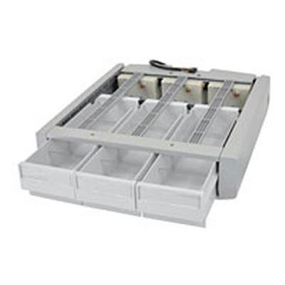 Ergotron multimedia accessoire: SV42 Supplemental Triple Drawer - Grijs, Wit