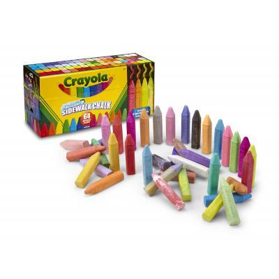 Crayola krijt: 64st. Stoepkrijt