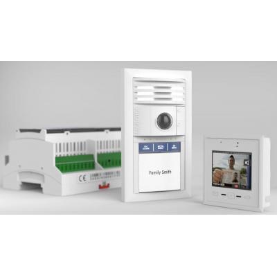 Mobotix deurintercom installatie: T25 Smart Access Set 2 - Wit
