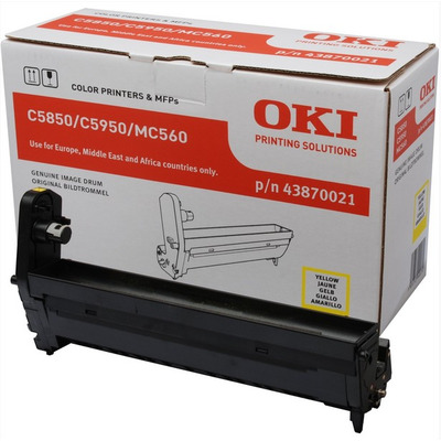 OKI drum: Yellow image drum for C5850/5950 - Geel
