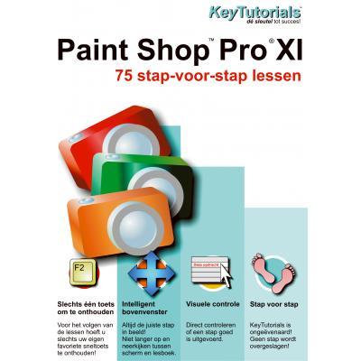 Shareart educatieve software: Keytutorials, Paint Shop Pro XI (11)  NL