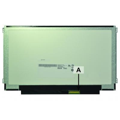 """2-power notebook reserve-onderdeel: 29.464 cm (11.6 """") HD+ 1366x768 LED Matte - Zwart, Groen"""