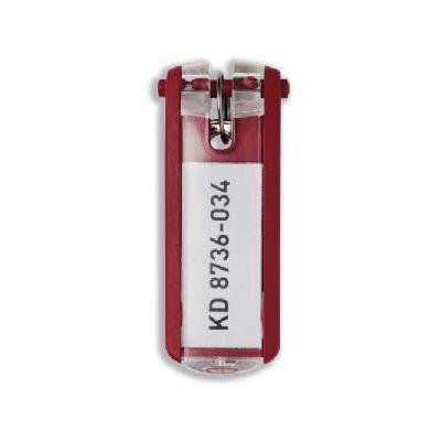 Durable sleutehanger: KEY CLIP - Rood