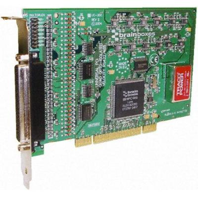 Brainboxes PCI 4 port OPTO RS422/485 Interfaceadapter