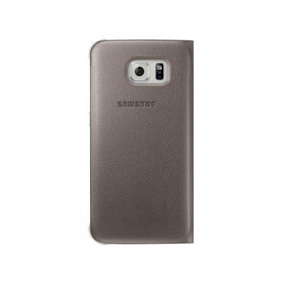 Samsung mobile phone case: Galaxy S6 Flip Wallet - gold - Goud