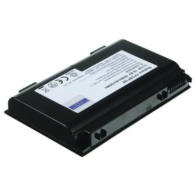 2-power notebook reserve-onderdeel: 10.8V 4600mAh Li-Ion Laptop Battery - Zwart