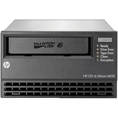 Hewlett Packard Enterprise StoreEver LTO-6 Ultrium 6650 Tape drive - Zwart