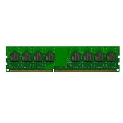 Mushkin 2GB (1x2GB) DDR2 800MHz / PC2-6400 DIMM 240-pin LP 1.8V 6-6-6-18 ECC, HP compatible RAM-geheugen